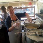 shauna making ham pot pie